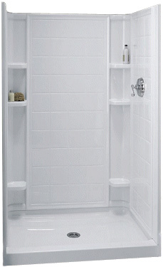 Sterling Kohler 72101100 0 White Ensemble Series Tile