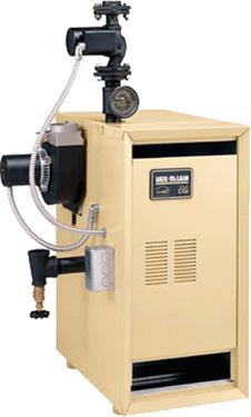 Weil Mclain Natural Gas Hot Water Boiler