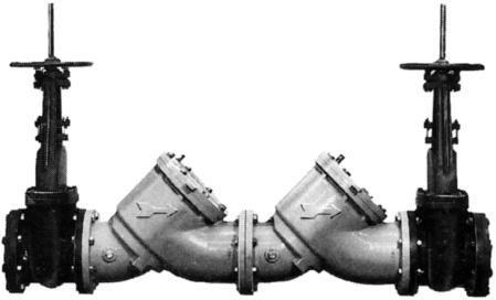 Watts Valves 0387054 6 Quot Double Check Backflow Preventer