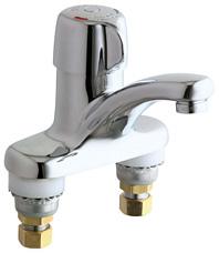 Chicago Faucets 3300 Cp Chrome 1 Handle Deck Mount