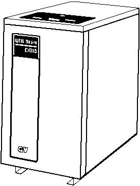 Weil-Mclain GV-4 Series 4 High Efficiency Gas Direct Vent Boiler ...