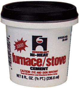 Hercules 35515 1 2 Gallon Furnace Stove Cement