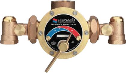 Leonard Tm 125 E Rf Thermostatic Mixing Valve Sweat