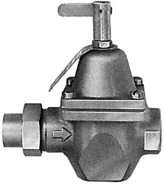 watts valves 0322825 3 4 feed water pressure regulator and dual controls for hot water boilers. Black Bedroom Furniture Sets. Home Design Ideas